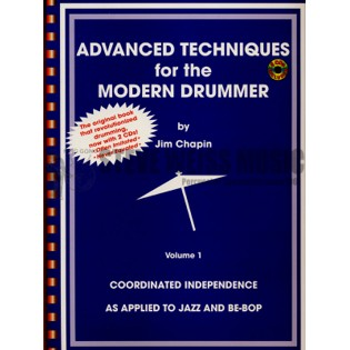chapin- advanced techniques for the modern drummer vol. 1 (w/2cd version)