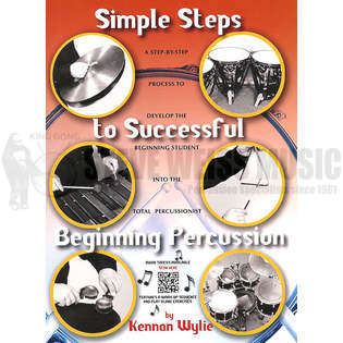 wylie-simple steps to successful beginning percussion