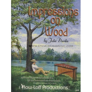 davila-impressions on wood (book/cd)