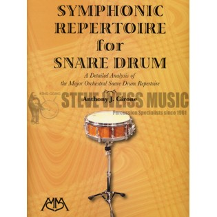 cirone-symphonic repertoire for snare drum
