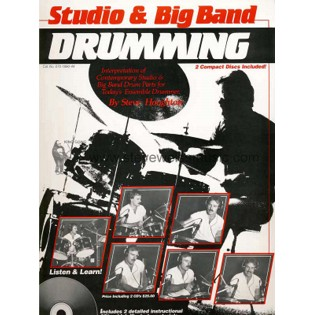 houghton-studio and big band drumming (w/2 cd)