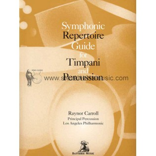 carroll-symphonic repertoire guide for timpani and percussion