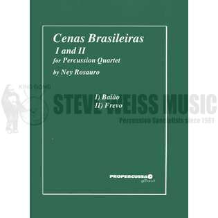 rosauro-cenas brasileiras i and ii (sp-4)-x/v/m/p (new version)