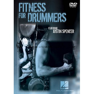 spencer-fitness for drummers (dvd)