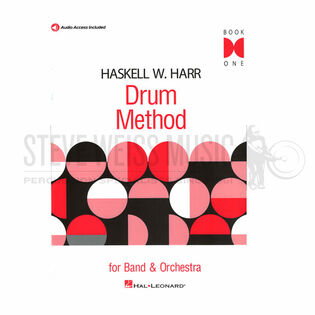 harr-drum method (bk 1) (online audio access)