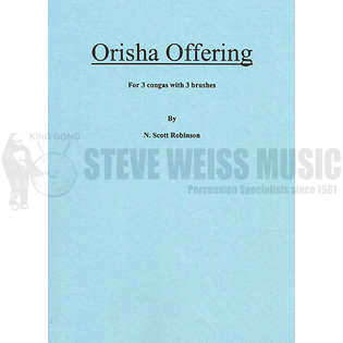robinson-orisha offering (sp)-p