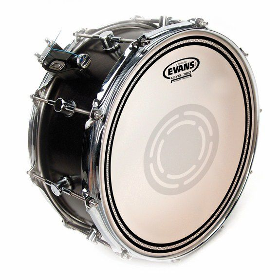 evans ec reverse dot frosted snare drum head snare drum heads tom heads steve weiss music. Black Bedroom Furniture Sets. Home Design Ideas