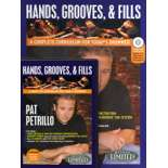 petrillo-hands, grooves, & fills (book/cd/dvd package)