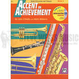 o'reilly/williams-accent on achievement mallet percussion  and timpani book 2 (w/cd)
