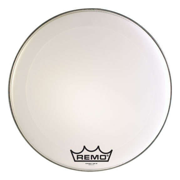 remo powermax marching bass drum head marching bass drum heads marching drum heads steve. Black Bedroom Furniture Sets. Home Design Ideas