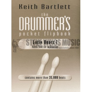bartlett-the drummer's pocket flipbook-latin beats 1