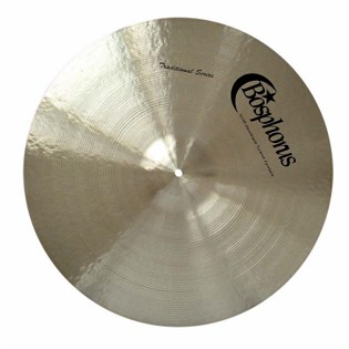 "bosphorus 15"" traditional series dark hi-hat cymbals"