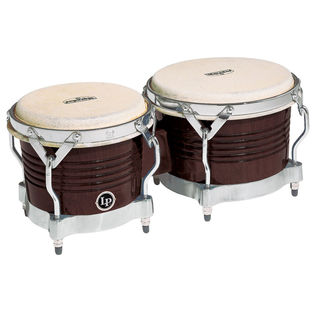 lp matador series wood bongos