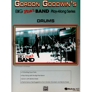 goodwin-big phat band playalong: drums (w/cd)
