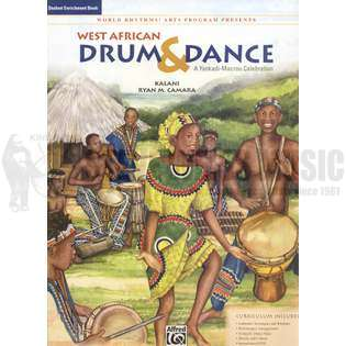 kalani/camara-west african drum and dance student enrichment book