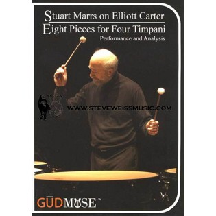marrs-elliot carter: eight pieces for four timpani (dvd)