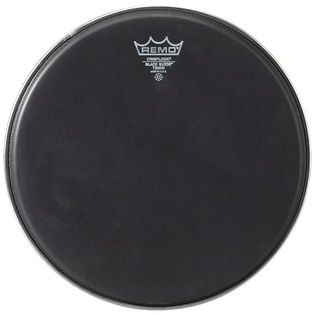 remo black suede emperor crimplock marching tenor drum head