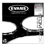 evans tom pack drum head packages