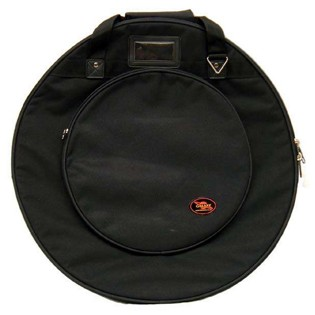 "humes & berg galaxy cymbal bag - 22"" with dividers"
