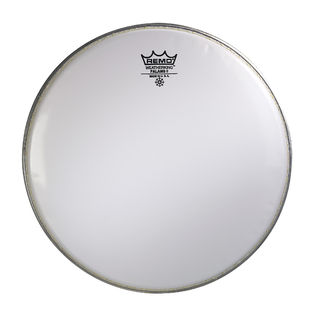 remo falams ii smooth white marching snare drum head marching snare drum heads marching drum. Black Bedroom Furniture Sets. Home Design Ideas