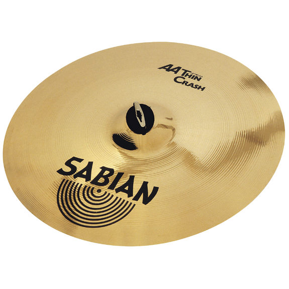 sabian 16 aa thin crash cymbal crash cymbals steve weiss music. Black Bedroom Furniture Sets. Home Design Ideas