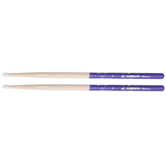 Zildjian Z5BNDP 5B Nylon Purple DIP Drumsticks