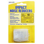 impact noise reducers ear plugs with case