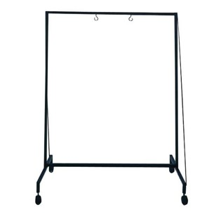 zildjian gong stand with wheels - up to 40""