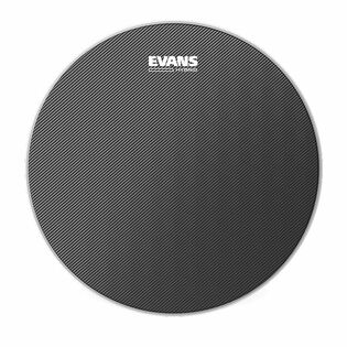 evans hybrid grey marching snare drum head