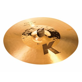 "zildjian 16"" k custom hybrid crash cymbal"