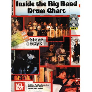 fidyk-inside the big band drum chart (cd)