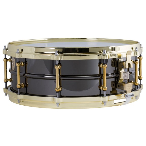 ludwig black beauty brass snare drum with tube lugs 14x5 metal snare drums snare drums. Black Bedroom Furniture Sets. Home Design Ideas