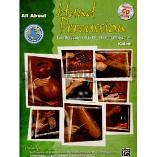 kalani-all about hand percussion (w/cd)