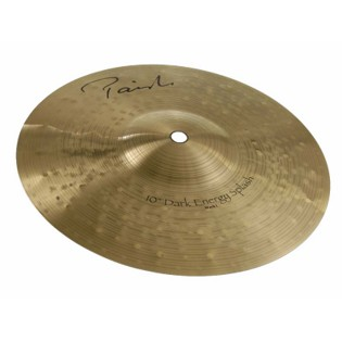 "paiste 10"" new signature dark energy mk i splash cymbal"