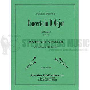 Concerto in D Major by Antonio Vivaldi arr  Steven Mathiesen