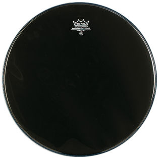remo ebony snare side marching drum head