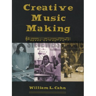 cahn-creative music making (book w/cd)