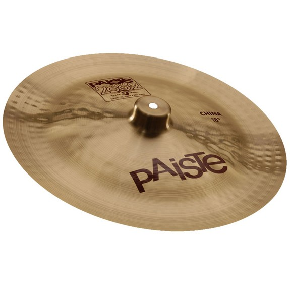paiste 18 2002 china cymbal special effects cymbals cymbals gongs steve weiss music