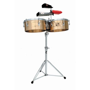 lp tito puente timbale set - 12/13 bronze