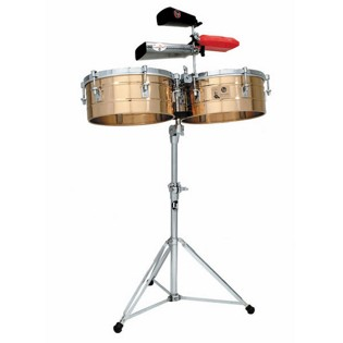 lp tito puente timbale set - 14/15 bronze