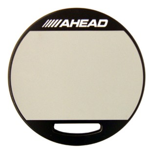 ahead double-sided practice pad - rubber / brush