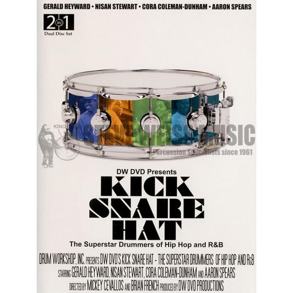 Heyward/Stewart/Colemen-Dunham/Spears-Kick Snare Hat (DVD