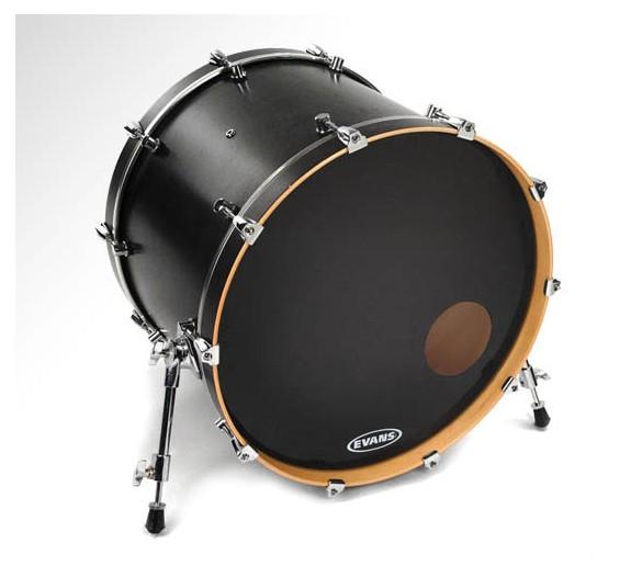 evans onyx resonant bass drum head evans drum heads steve weiss music. Black Bedroom Furniture Sets. Home Design Ideas