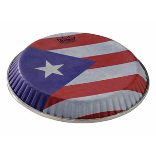remo symmetry skyndeep puerto rico flag graphic conga head