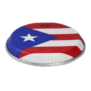 remo symmetry skyndeep puerto rico flag graphic conga head for toca & lp aspire conga
