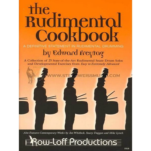 freytag rudimental cookbook cd only snare drum method books with recording snare drum. Black Bedroom Furniture Sets. Home Design Ideas