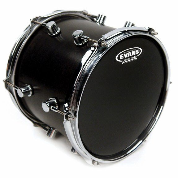 evans resonant black drum head snare drum heads tom heads steve weiss music. Black Bedroom Furniture Sets. Home Design Ideas