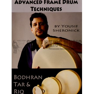 sheronick-advanced frame drum techniques (dvd)