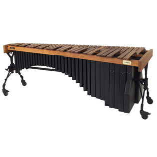 adams 5.0 octave artist classic custom rosewood marimba w/ voyager frame