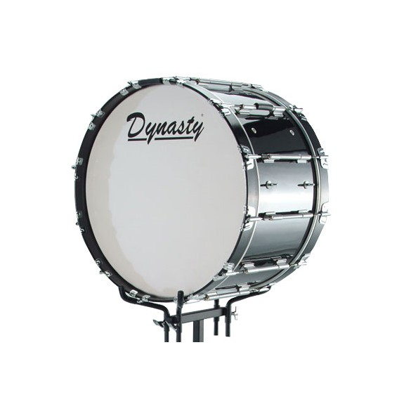 dynasty marching bass drum logo head dynasty percussion brands steve weiss music. Black Bedroom Furniture Sets. Home Design Ideas
